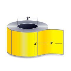 <span><span>4 x 6</span></span> Direct Thermal Labels - Yellow