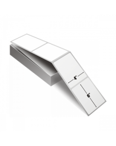<span><span>4 x 6</span></span> Direct Thermal Labels Fanfold