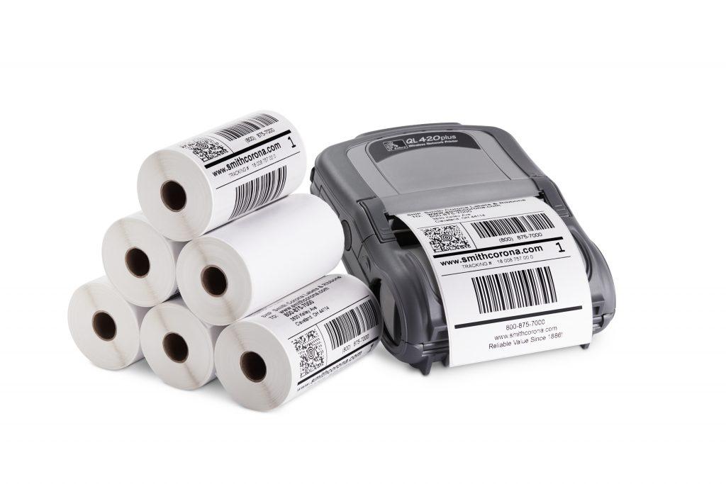 Thermal printer and labels