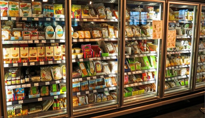 Products in cold storage require freezer grade adhesive on their labels