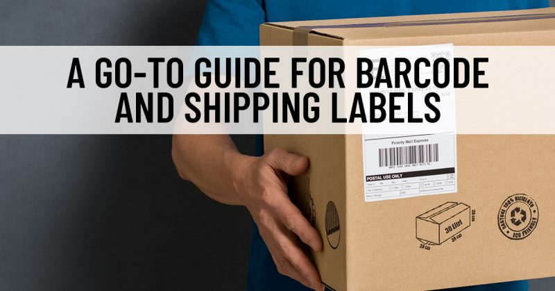 Barcodes, labels, and more are used to identify and move product
