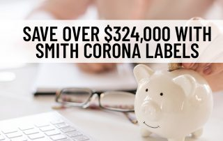 Save with Smith Corona Labels
