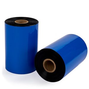 Rolls of thermal transfer ribbon used for thermal transfer printing