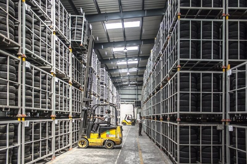 Warehouse efficiency is increased with a good layout plan