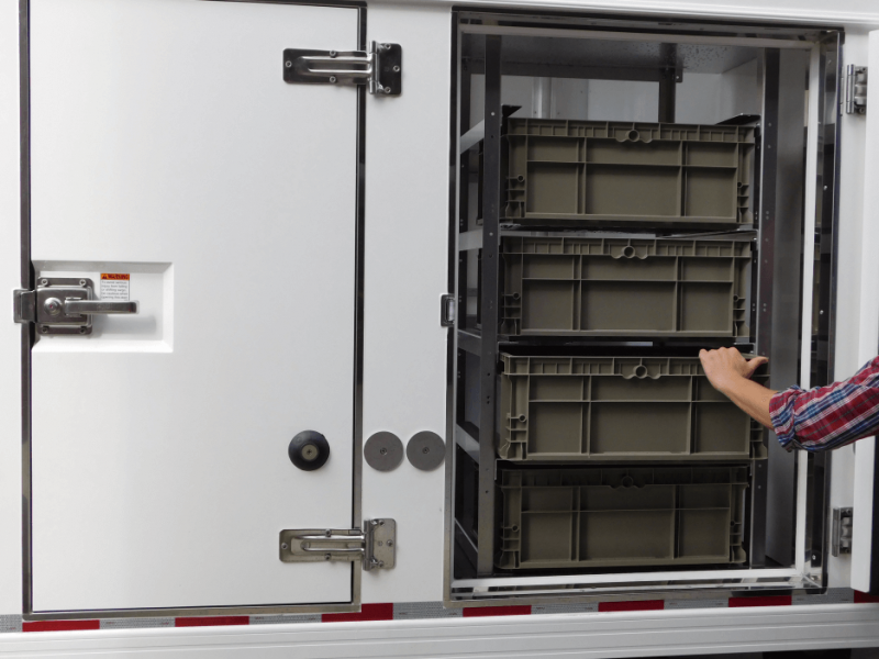 Truck designs are changing to accommodate cold chain items