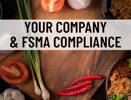 Your Company and FSMA Compliance
