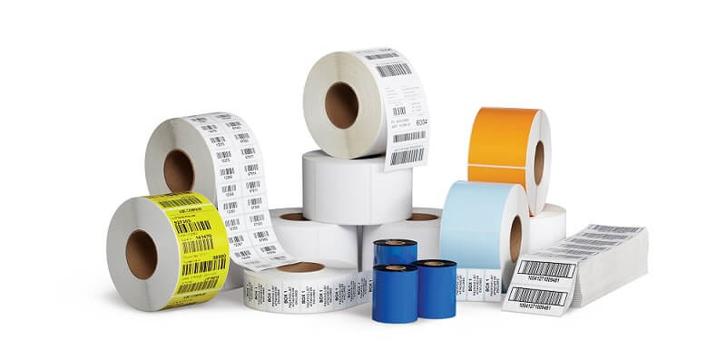 Thermal transfer labels require thermal ribbon to print while direct thermal labels do not require thermal ribbon