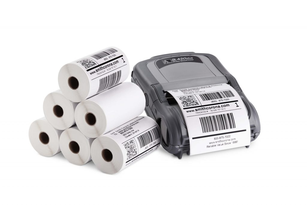 Thermal printer and labels