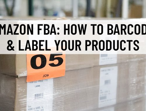 Amazon FBA: How to Barcode & Label Your Products
