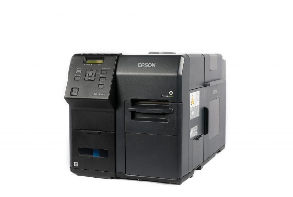 An Epson Inkjet Label Printer