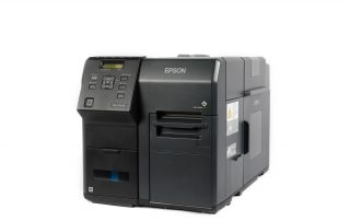 An Epson Inkjet Label Printer