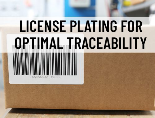 License Plating for Optimal Traceability