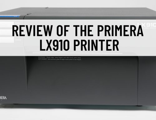 Review of the Primera LX910 Printer