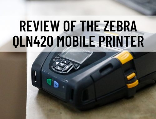 Review of the Zebra QLN420 Mobile Printer