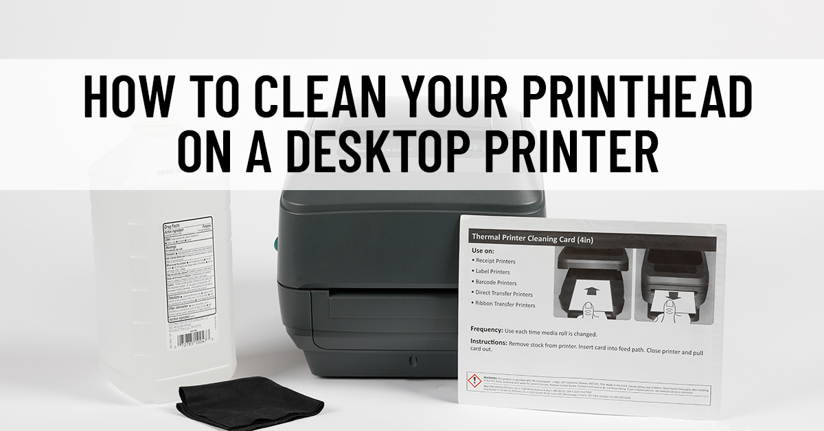 How to Clean Your Printhead on a Desktop Printer