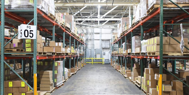 Warehouse that Uses LPN Labels