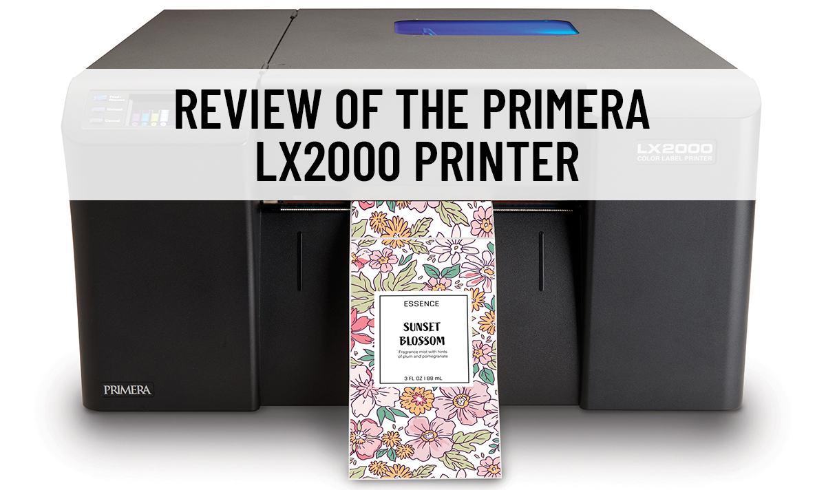 A review of the Primera LX2000 inkjet label printer