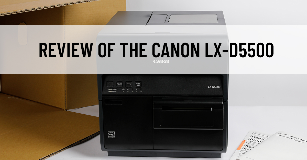 Review of the Canon LX-D5500