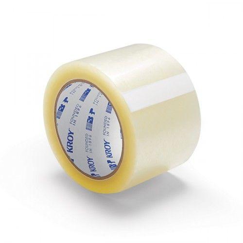 "3"" x 110 Clear 1.6 Mil Carton Sealing Tape"