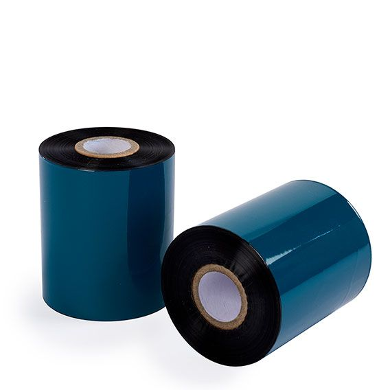 "3.27"" x 1476' Wax Resin Ribbons - 1"" Core"