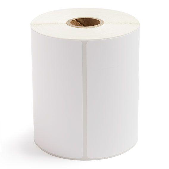 "4"" x 6.5"" White Matte Paper - Thermal Transfer Labels - 1"" Core"