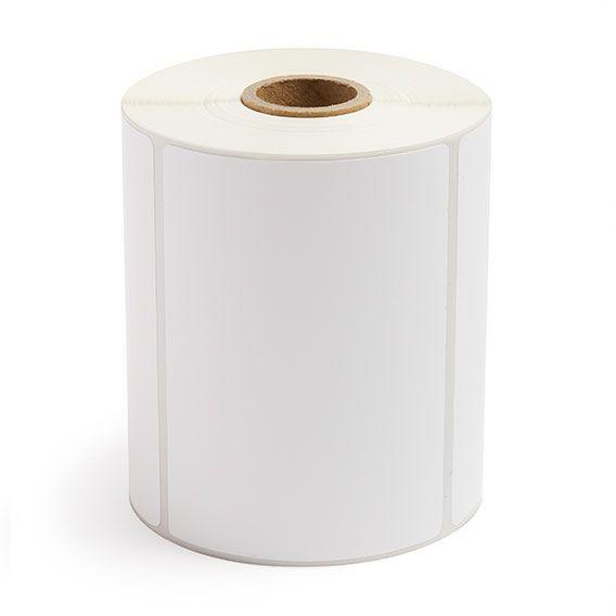 "4"" x 3"" White Matte Paper - Thermal Transfer Labels - 1"" Core"