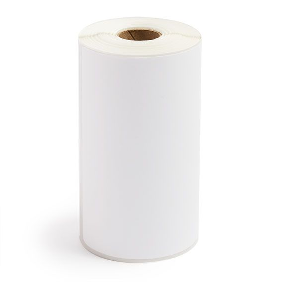 """4"""" x 6"""" White Matte Paper - Direct Thermal Labels - 0.75"""" Core / 2.2"""" Outer Diameter"""