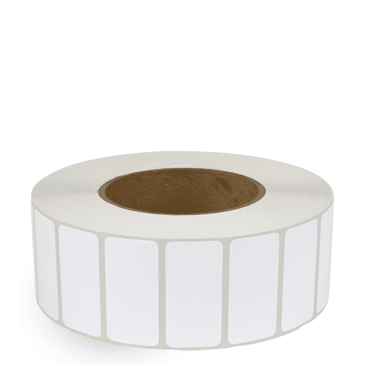 """2"""" x 1"""" White Matte Paper - Inkjet Labels - 3"""" Core"""