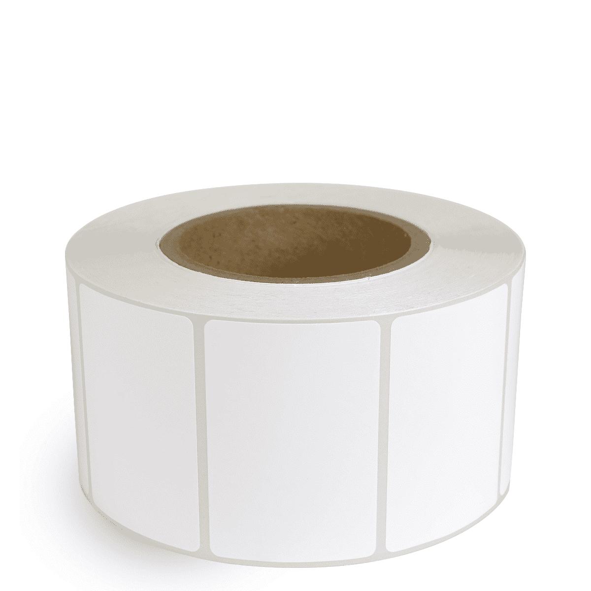 """3"""" x 2"""" White Matte Paper - Inkjet Labels - 3"""" Core"""