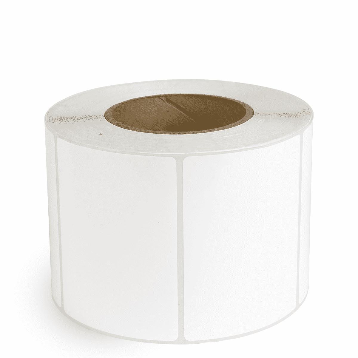 """4"""" x 3"""" White Matte Paper - Inkjet Labels - 3"""" Core"""