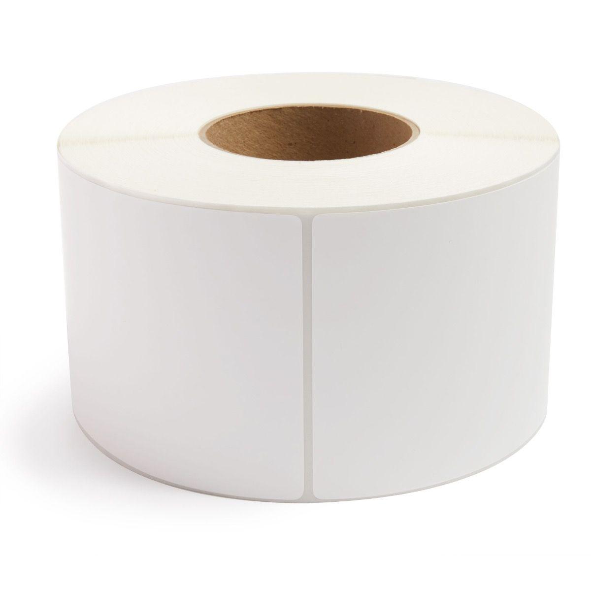 "4"" x 6"" White Matte Paper - Thermal Transfer Labels - 3"" Core"