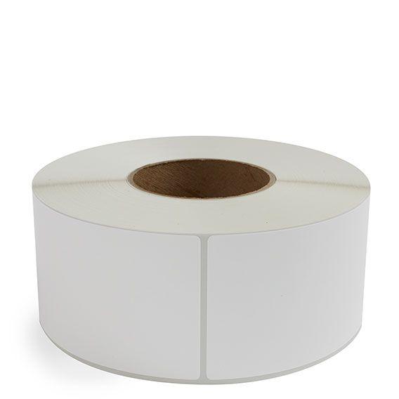 "3"" x 6"" White Matte Paper - Thermal Transfer Labels - 3"" Core"