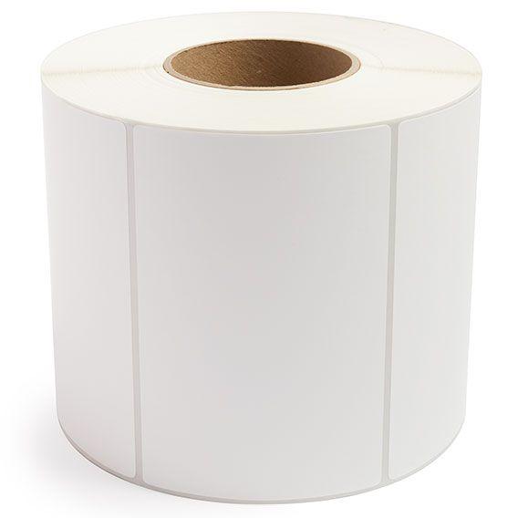 "6"" x 4"" White Matte Paper - Thermal Transfer Labels - 3"" Core"