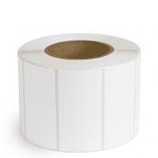 """4"""" x 2"""" White Matte Paper - Inkjet Labels - 3"""" Core"""