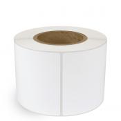 """4"""" x 6"""" White Matte Paper - Inkjet Labels - 3"""" Core"""