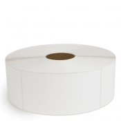 """4"""" x 8"""" White Matte Paper - Thermal Transfer Labels - 3"""" Core / 12"""" Outer Diameter (No Perf)"""