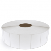 """3"""" x 2"""" White Matte Paper - Thermal Transfer Labels - 3"""" Core / 12"""" Outer Diameter (No Perf)"""