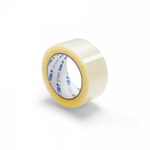 "1.6 Mil - 2"" x 110' Hotmelt Adhesive - Sealing Tape"
