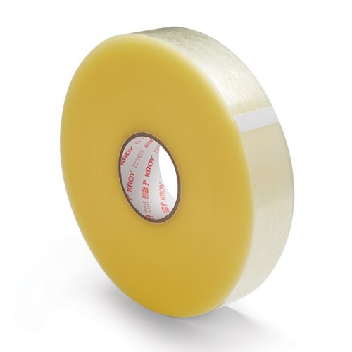 "1.9 Mil - 3"" x 1000' Hotmelt Adhesive - Sealing Tape"