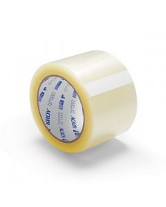 "3"" x 110 Clear 1.9 Mil Carton Sealing Tape"