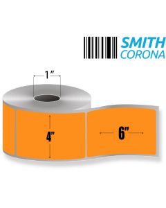 <span><span>4 x 6</span></span> Orange - Direct Thermal Labels - 1