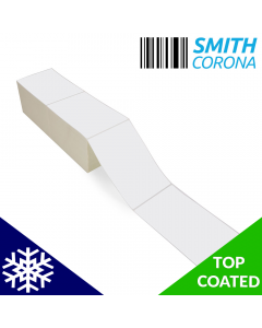 <span><span>4 x 6</span></span> Top Coated - Freezer Grade - Fanfold Direct Thermal Labels