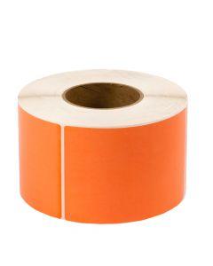<span><span>4 x 6</span></span> Fluorescent Orange - Thermal Transfer Labels - 3