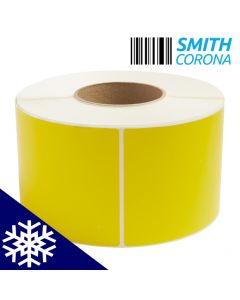 <span><span>4 x 6</span></span> Yellow - Freezer Grade - Direct Thermal Labels - 3