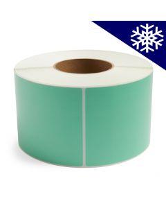 <span><span>4 x 6</span></span> Light Green Direct Thermal Labels - Freezer Adhesive