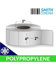 <span><span>4 x 2</span></span> Polypropylene (Freezer Grade) - Direct Thermal Labels - 3