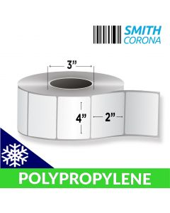 <span><span>4 x 2</span></span> Polypropylene (Freezer Grade) - Thermal Transfer Labels - 3