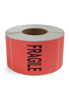 Fragile - Preprinted Labels