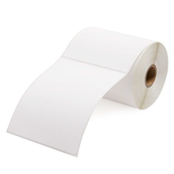 """4"""" x 5"""" Direct Thermal Labels - 1"""" Core-2"""
