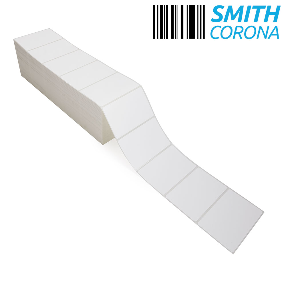 "4"" x 2.5"" Thermal Transfer Fanfold Labels-3"